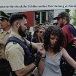 2 Berufsschüler gegen Abschiebung, Nürnberg, 30.05.17 (2)