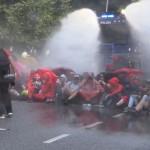 23. Straßenblockade Protokollstrecke, 07.07.17
