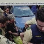 3 Berufsschüler gegen Abschiebung, Nürnberg, 30.05.17