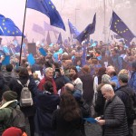 3 Pulse of Europe Kundgebung vor der Präsidentschaftswahl Frankreich, Frankfurt a.M.23.04.17