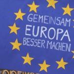 5  Pulse of Europe Kundgebung vor  Parlamentswahl Niederlanden, Frankfurt, 12.03.17