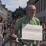 7 Berufsschüler gegen Abschiebung, Nürnberg, 2. Juni 2017 (2)