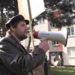 8 100 Jahre Revolution, AGIT PROP gegen Mietenexplosion, Frankfurt a.M., 12.03. 17